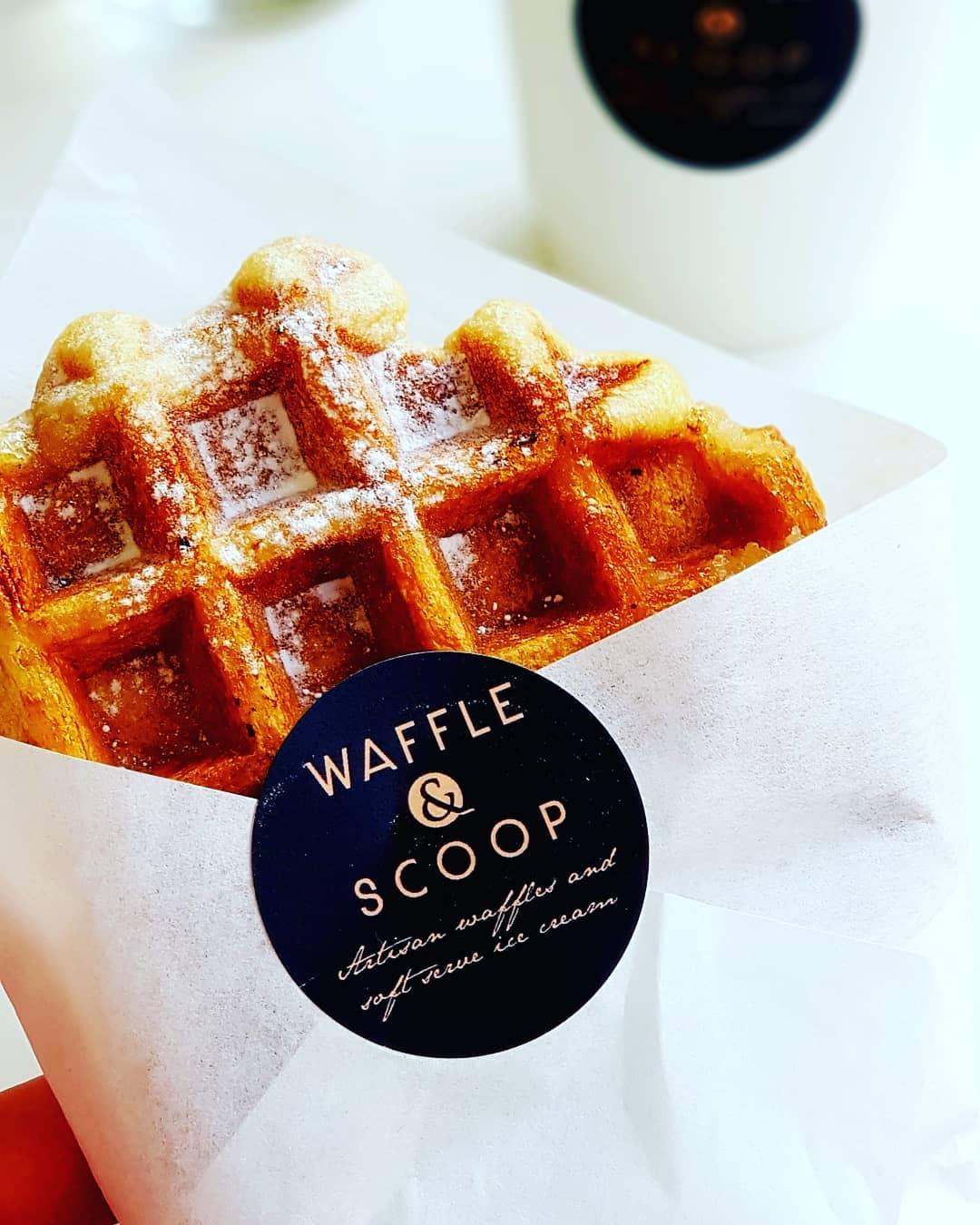 Liege Waffle in a wrap